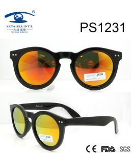 High Quality New Arrival Plastic Sunglasses (PS1231) pictures & photos