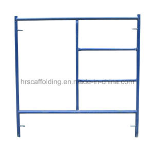 Powder Coated Walk Through Frame Scaffold for Exterior Insulation pictures & photos
