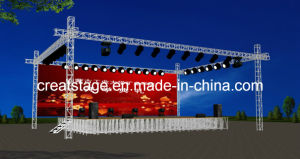Stage Truss with Stage