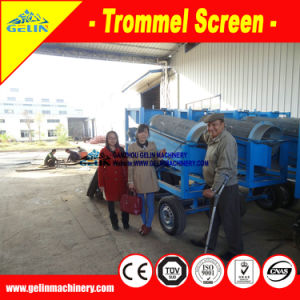 Mobile Small Gold Trommel pictures & photos