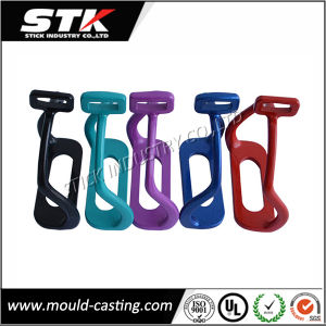 Powder Coating Aluminum Gravity Casting / Bent Leg Safety Stirrups pictures & photos