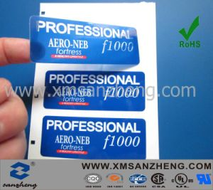 Adhesive Transparent Sticker (SZXY034) pictures & photos