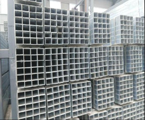 Hot Selling Q235 50X50mm Pre-Galvanized Square Steel Tube pictures & photos