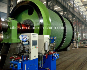 Single Rope and Double Cylinder Winding Hoist pictures & photos