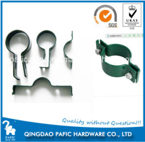Powder Coated Fence Accessory/ Metal Pipe Fixing Clamp pictures & photos