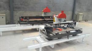 Wood Cutting Saw Round Log Sliding Table Sawmill Machine