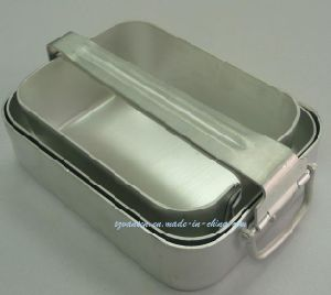 Hot Design Military Aluminum Mess Tin with 3 Sets pictures & photos