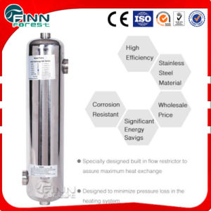 High Efficient Swimming Pool Water Heater with Stainless Steel Material pictures & photos