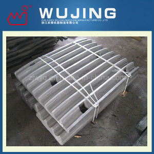 High Manganese Steel Crusher Spare Parts Plate Made in China