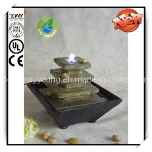 9.5-Inch Desk Fountain with LED Light (YF3S024-9.5H)