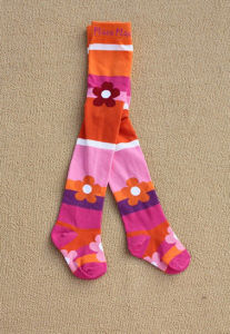 Kid′s Cotton Jacquard Tights for Any Age Size pictures & photos