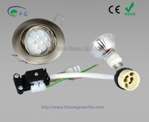 GU10/MR16 LED Downlight Kit Including The Fixture, Lampholder and Lamp pictures & photos