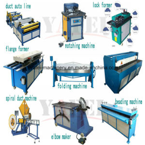 Spiral Duct Forming machine for Round Tube Pipe Making pictures & photos