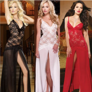 Wholesale High Quality Europea Women Colorful Ladys Lace Sexy Llingerie pictures & photos