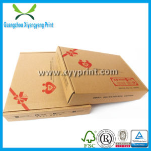 Custom Cheap Corrugated Paper Mail Box with Logo Print pictures & photos