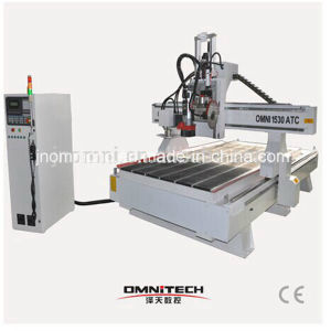 Wood Works CNC Machine with Circular Saw (OMNI1530) pictures & photos