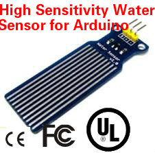 High Sensitivity Water Sensor for Arduino