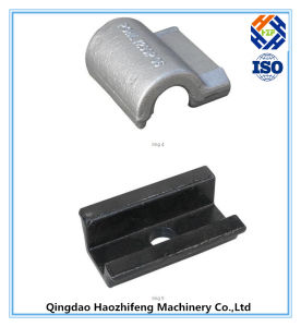 Aluminum Investment Casting for Plate Bracket pictures & photos