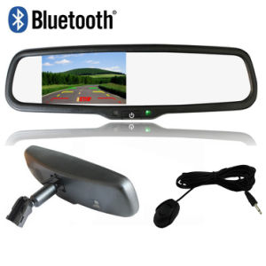 "4.3"" Monitor OEM Mirror Bracket Rear View Mirror Car Bluetooth"