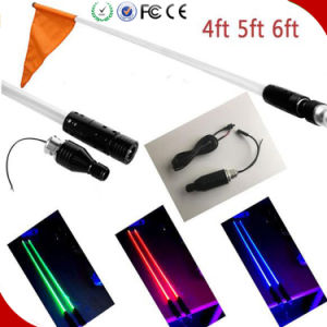 Auto Part LED Flag Pole Lights 12V 4FT 5FT 6FT ATV UTV Car Truck Quick Release Mount LED Light Bar pictures & photos