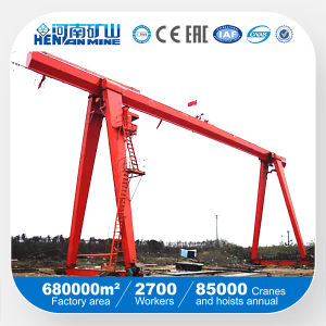China Single Beam Gantry Crane for Outside Application pictures & photos