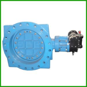 Triple Offset Flange Butterfly Valve Metal Seated pictures & photos