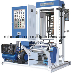 Mini Plastic Film Blowing Machine with Double Winder and Corona pictures & photos