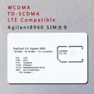 3G 4G AG8960 Phone SIM Card WCDMA TD-SCDMA Lte Standard SIM Test Card for Agilent 8960 pictures & photos