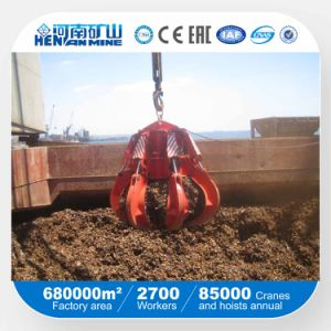 China Henan Mine Crane Grab Bucket pictures & photos