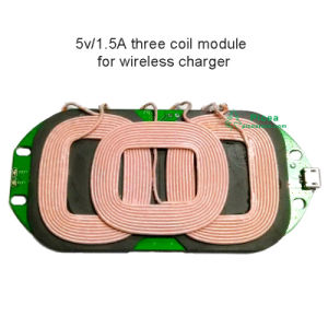 Qi Wireless Charging A6 3 Coils Transmitter Module 3 Coil (QI wireless inductive coil) pictures & photos