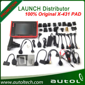Original Launch X431 Pad Auto Scanner One-Key Update with Built-in Printer X-431 Pad Support 3G WiFi and Bluetooth pictures & photos