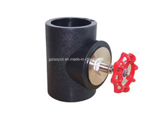 High Quality PE Pipe Fittings Shut-off Valve pictures & photos