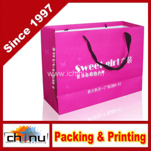 Art Paper / White Paper 4 Color Printed Bag (2237) pictures & photos