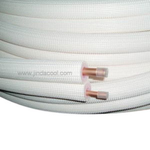 R410A Grade Air Conditioner Copper Pipe Insulated Copper Tube pictures & photos