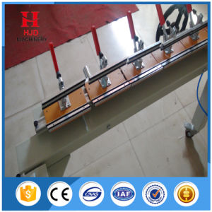 Chain Wheel Silk Screen Printing Stretching Machine with High Quality pictures & photos