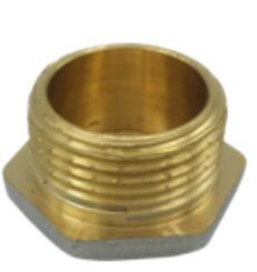 High Quality Brass Round Head Code Pipe Fittings/Nipple pictures & photos