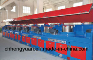 Factory Price Straight Line Wire Drawing Machine with Ce pictures & photos