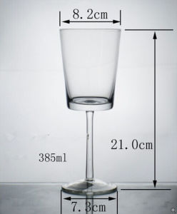Super Wine Glass, Sublimation Wine Glass, Glass Goblet pictures & photos