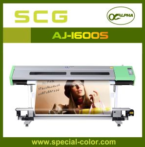 Dx5 Solvent Advertising Printing Machine Aj-1600 (S) pictures & photos