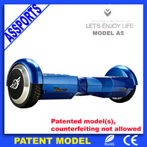 Wholesale Blue Chargable Self Balance Motorized Electric Scooter with Bluetooth pictures & photos