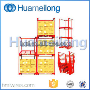 Powder Coating Warehouse Stacking Storage Nestainer Rack pictures & photos