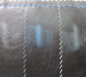 Two Tone PU Leather for Shoes (YT1402X) pictures & photos