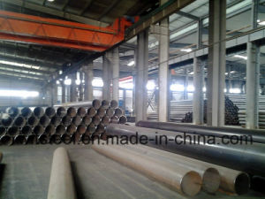 ASTM A53 A500 BS1387 Grade B Carbon Steel Pipe with Galvanized or Oil in The Surface Brand Witsteel in China