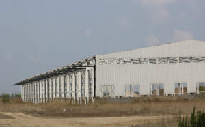 Competitive Price Prefabricated Steel Structure Logistics Warehouse Building pictures & photos