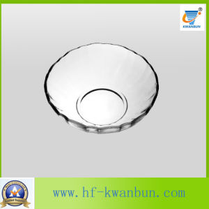 High Quality Food Grade Salad Glass Bowl Glassware Kb-Hn0201 pictures & photos
