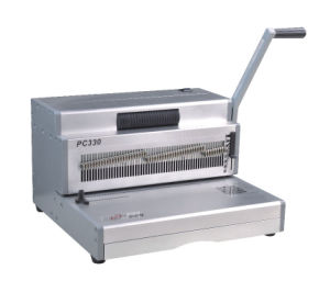 Manual Spiral Coil Binding Machine (PC300) pictures & photos