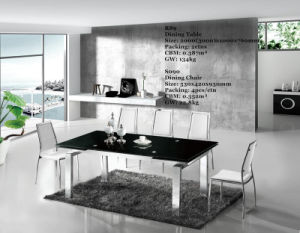 Modern Glass Dining Desk