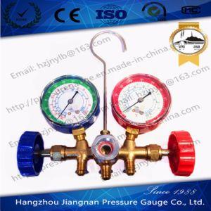 70mm Refrigeration Pressure Gauge Set-Manifold Pressure Gauge pictures & photos