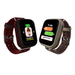 Colorful Touch Screen Elderly GPS Watch with Heart Rate Monitor (D28) pictures & photos
