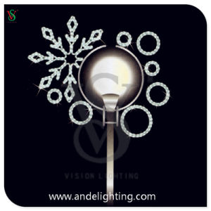 LED Outdoor Christmas Motif Street Decoation Pole Light pictures & photos